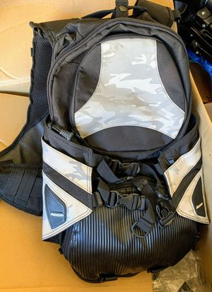 Icon motorcycle backpack with back protection for Sale in Arlington, TX
