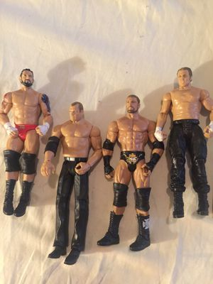 WWE Action figures dolls collectible four for Sale in Joint Base Lewis-McChord, WA