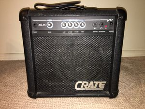 Crate BX-15 amplifier for Sale in Beaverton, OR