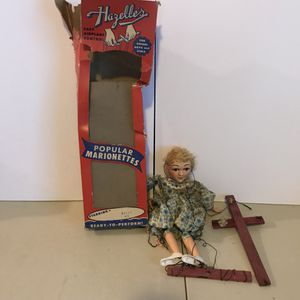 Used, ANTIQUE 1960's HAZELLES POPULAR MARIONETTES! VERY COLLECTIBLE! PRICED TO SELL! for Sale for sale  Queens, NY