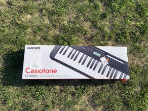 Casio CT-S200 61-Key Digital Piano Style Portable Keyboard with 400 Tones, Black for Sale in Pickerington, OH