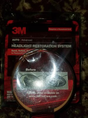 HEADLIGHT RESTORATION KIT! $6 for Sale in Colton, CA