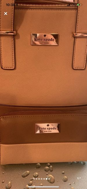 Kate Spade bag and wallet set for Sale in Queens, NY