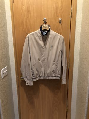 Polo Ralph Laureen Cotton Twill Men's Jacket for Sale in Olympia, WA