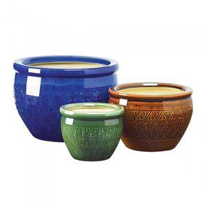 Ceramic Flower Pot, Set of 3 for Sale in Boston, MA