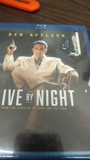 Ben Affleck live live By night Blu-ray DVD for Sale in Gilroy, CA