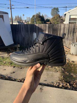 Jordan 12 triple black for Sale in Sacramento, CA