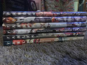Fables deluxe edition books 1-6 (includes book 4 (out of print)) for Sale in San Diego, CA
