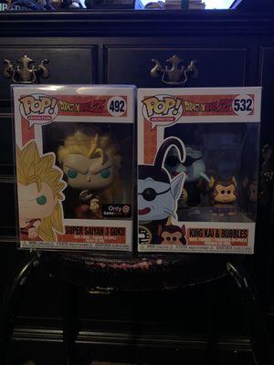 Dragonball Z Funko Pop Goku&King Kai for Sale in Vallejo, CA
