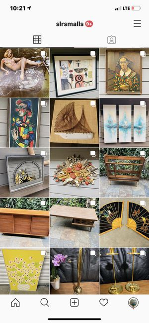 Vintage Antique Mid Century Art Furniture Brass Pottery Lamps Bamboo Etc. @slrsmalls for Sale in Sugar Land, TX