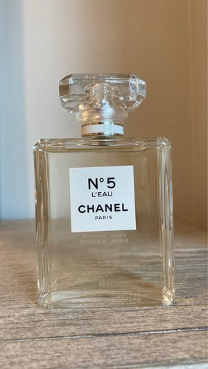 Chanel N5 LEAU EDT tester 3.4fl oz for Sale in Portland, OR