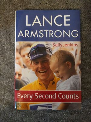 Lance Armstrong: Every Second Counts (hardcover) for Sale in Detroit, MI