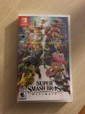 Super Smash Bro's Nintendo Switch for Sale in Seattle, WA