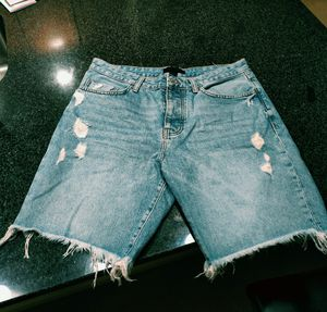 Distressed cut off shorts size 33 for Sale in Chesapeake, VA