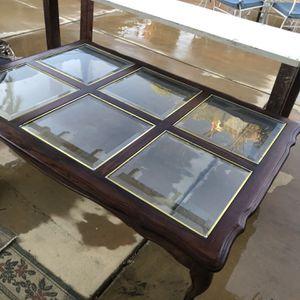 Vintage Big Coffee Table for Sale in Los Angeles, CA