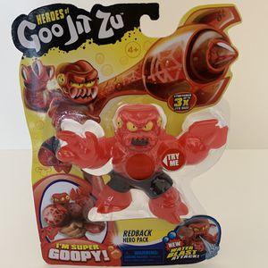 Heroes of Goo Jit Zu Redback Hero Pack Water Blast Attack! New for Sale in Long Beach, CA