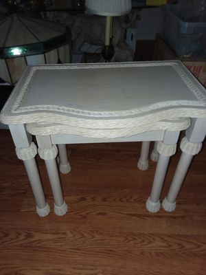 NESTING TABLES END TABLES for Sale in Snohomish, WA