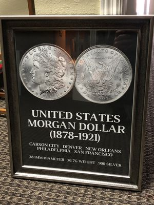 Morgan Dollar Framed for Sale in Orlando, FL
