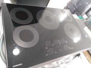 "Samsung 30"" electric cook top stainless steel for Sale in San Clemente, CA"