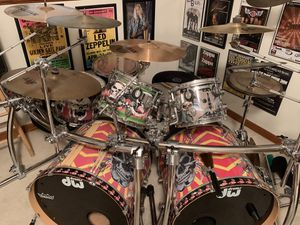 7 Piece DW/PDP mix Drum kit. REDUCED. for Sale in Little Chute, WI
