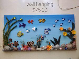 Fish aquarium on canvas for Sale in Hillsborough, NC