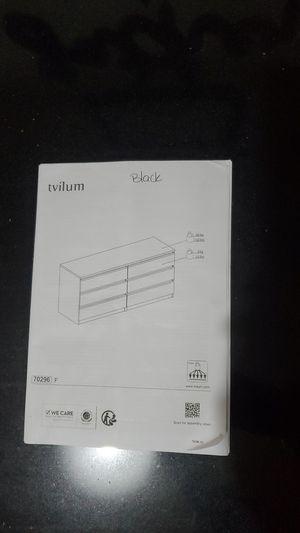 Need Tvilum dresser parts for Sale in Fresno, CA