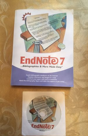 ENDNOTE 7 Bibliographies & More Made Easy for Sale in McKinney, TX