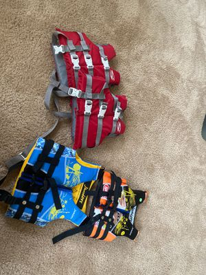 4 kids Life jackets New for Sale in Mukilteo, WA