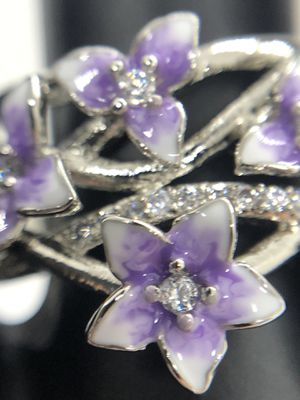 925 Silver Flower Rings for Sale in Olympia, WA