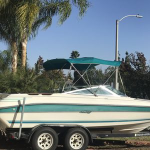 Boat With Trailer For Sale for Sale in Corona, CA