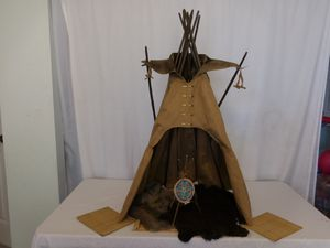 American Girl Kaya Doll Tepee and Accessories Rugs + Mats for Sale in Lake Elsinore, CA