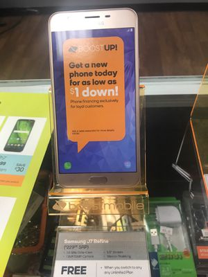 Samsung galaxy J7 refine at BOOST MOBILE Georgetown KY for Sale in Georgetown, KY