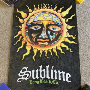 Sublime poster 3' x 2' for Sale in Vista, CA