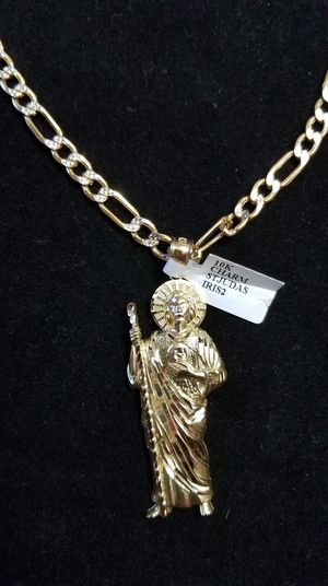 "San judas & 24"" chain for Sale in Pflugerville, TX"