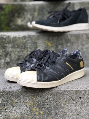 Bape undefeated adidas superstars for Sale in Seattle, WA