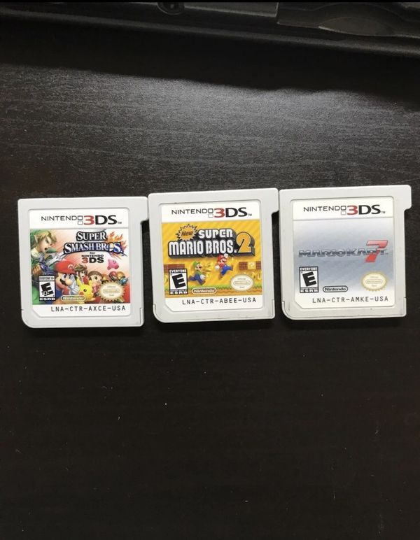 New 3ds xl w/games