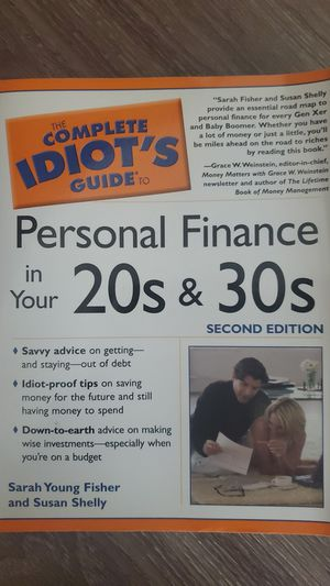 Personal finance in your 20s and 30s for Sale in Sunnyvale, CA