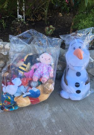 Toys and stuffed animals- like new condition for Sale in Laguna Niguel, CA