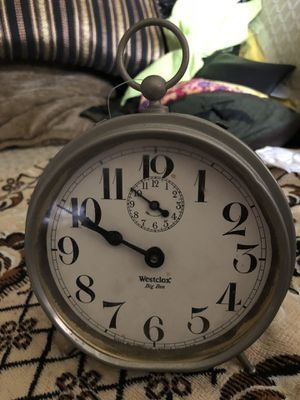 1908 west clock Big Ben clock antiques great condition for Sale in Philadelphia, PA