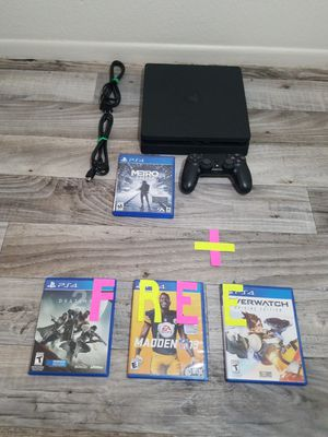 🚩 Playstation 4 Ps4 Slim 1TB (1000gb) Bundle + 3 FREE Games Dec 10th - Dec 23th Special First Come First Served 🚩 for Sale in Phoenix, AZ