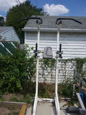 $85 pull up, dip, push up, knee up all in on! for Sale in Grosse Pointe, MI