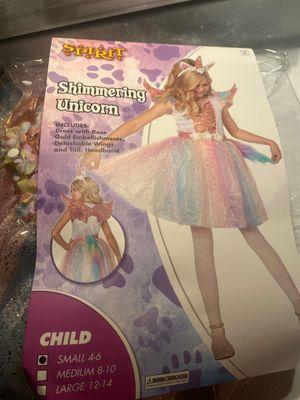 Unicorn costume size small 4-6 girls for Sale in Scottsdale, AZ