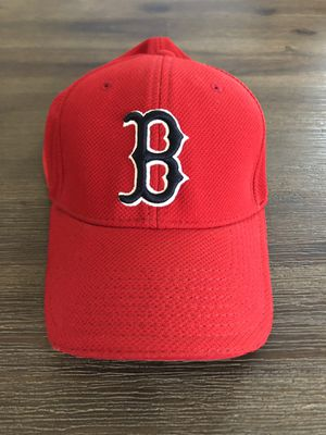 Like New • Boston Red Sox New Era MLB Official Batting Practice Red Baseball Hat • Size: M/L for Sale in West Covina, CA