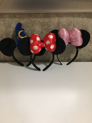 New!! 1- Mickey Mouse ears Minnie Mouse Ears for Sale in El Monte, CA