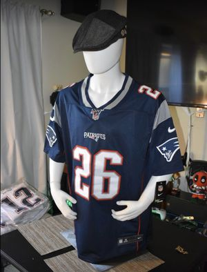 Patriots jersey,100th Anniversary Jerseys. SONY MICHEL #26 .pick up or ship.great Christmas gift ever for Sale in Boston, MA