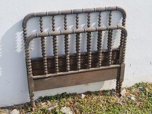 Fresh off the farm , antique twin wooden headboard & footboard for Sale in Zion Crossroads, VA