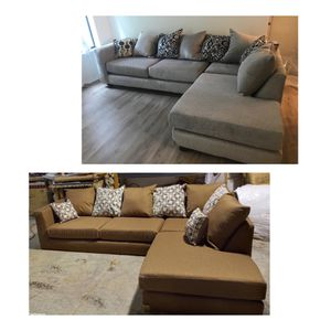 LIMITED TIME!!BROWN AND GREY SECTIONALS for Sale in Atlanta, GA
