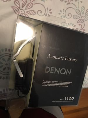 Denon Acoustic Luxury Headphones for Sale in Chicago, IL