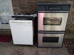 Whirlpool Oven. GE dishwasher and GE Stovetop for Sale in Monroe, LA