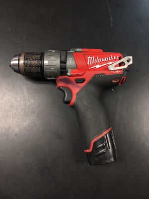 Milwaukee 1/2 12v hammer drill for Sale in Winter Haven, FL
